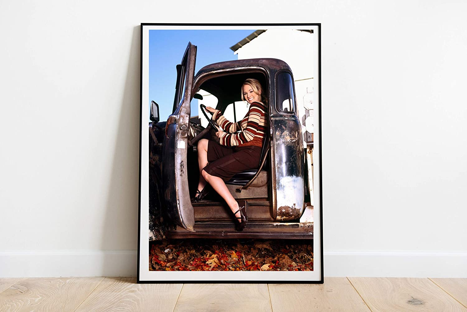 """Country Pop Singer Carrie Underwood Poster Wall Decor Art Wall Art Print Gift Poster Unframed Poster Print Canvas Printing Size - 11""""x17"""" 18""""x24"""" 24""""x32"""" 24""""x36"""" (L - 24""""x32"""" (61x81cm))"""