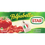 Star - Polpabella, Polposi cubetti, Pomodoro 100% italiano - 400 g  3 lattine