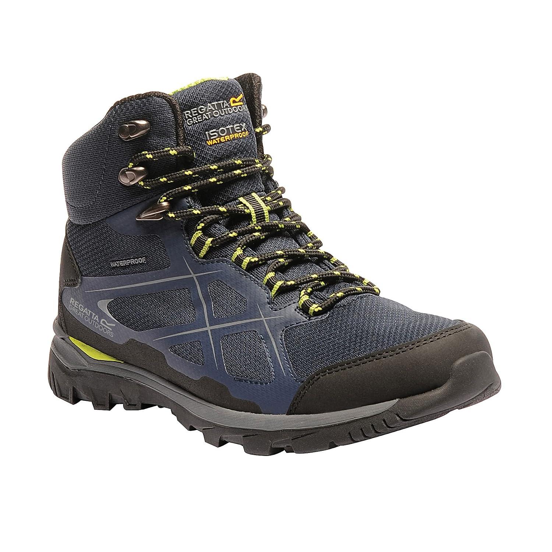 Great Outdoors Mens Kota Mid Walking Boot (11 US) (Black/Granite)