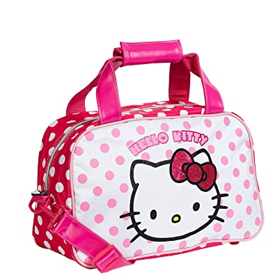KARACTERMANIA, Hello Kitty Bolsa de Deporte Dots - Bolsa de Deporte para niñas