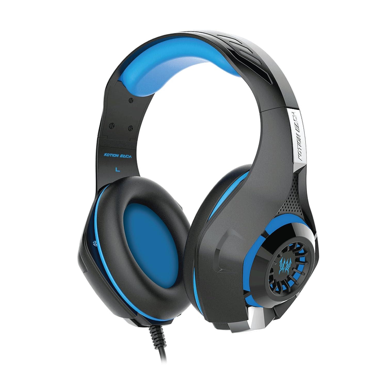 Kotion Each GS410 Headphones (Blue)