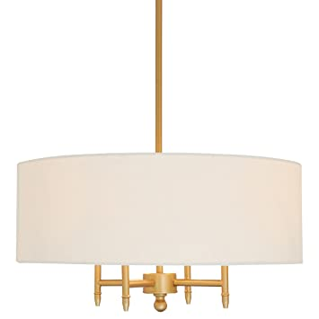 Stone beam classic 4 arm chandelier 42h white shade amazon stone beam classic 4 arm chandelier 42quoth aloadofball Gallery