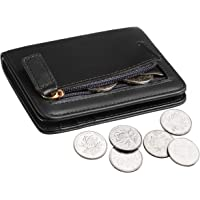 Gostwo Womens Rfid Blocking Small Compact Bifold Luxury Genuine Leather Pocket Wallet Ladies Mini Purse with ID Window