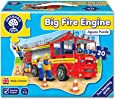 Orchard Toys Shaped Floor Puzzle - Big Fire Engine