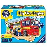 Puzzle, 53x42cm, Feuerwehr Wagen, 20 Teile