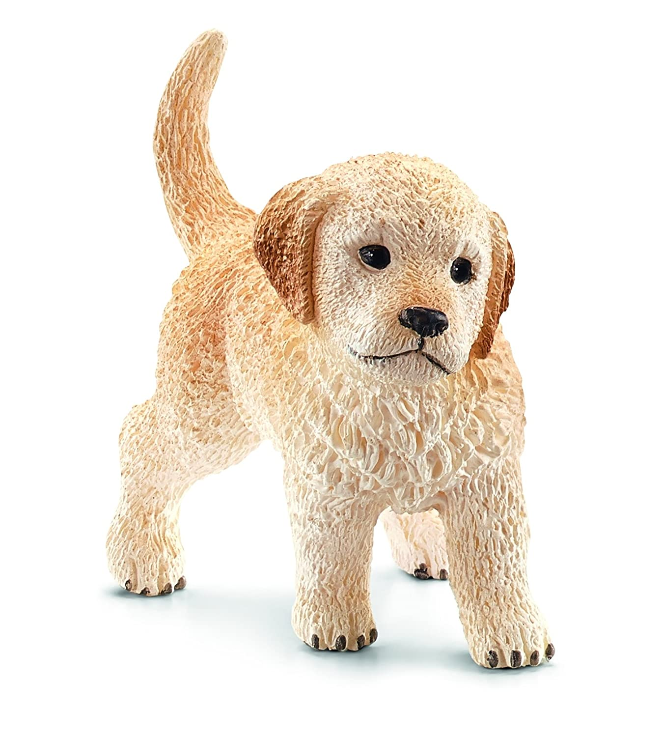 Schleich Puppy Golden Retriever Toy Figure Schleich North America 16396