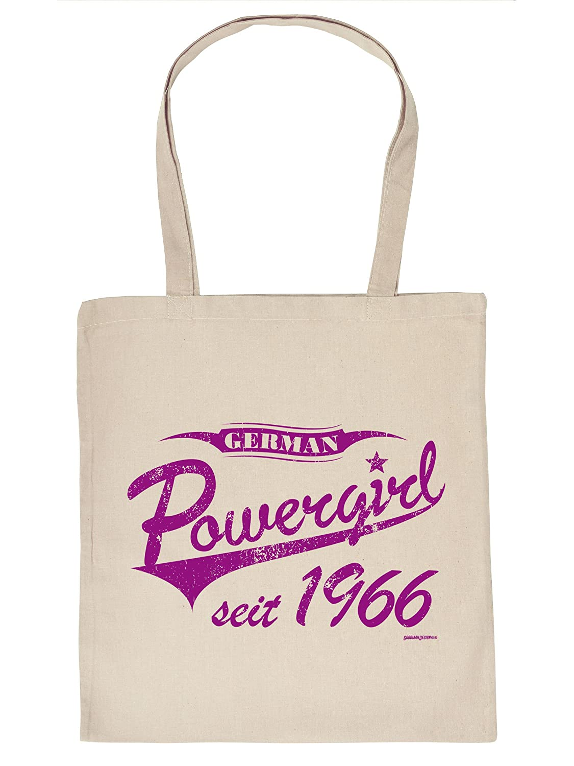Age 50 50th Birthday Gift Bag German Girl Since 1966 Cotton Idea Amazoncouk Kitchen Home