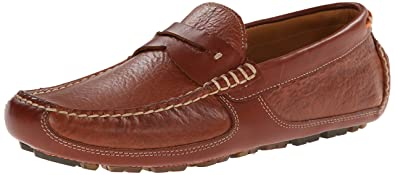 Trask Mens Derek SlipOn Loafer Saddle Tan