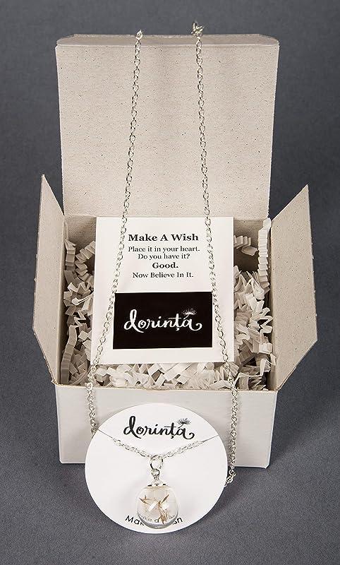 Remember Making a Wish on a Dandelion Dandelion Seeds Keepsake Glass Globe Ornament Make a Wish Gift by Dorinta