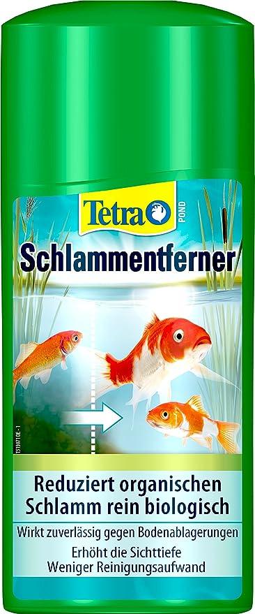 Tetra Pond - Eliminador de barro (reduce el barro en estanques de jardín, actúa puramente biológico), botella de 500 ml: Amazon.es: Productos para mascotas