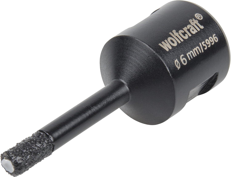 1/V Wolfcraft 5997000/Diamant Foret Ceramic /Ø 8/mm filetage M 14 profondeur de coupe 35/mm