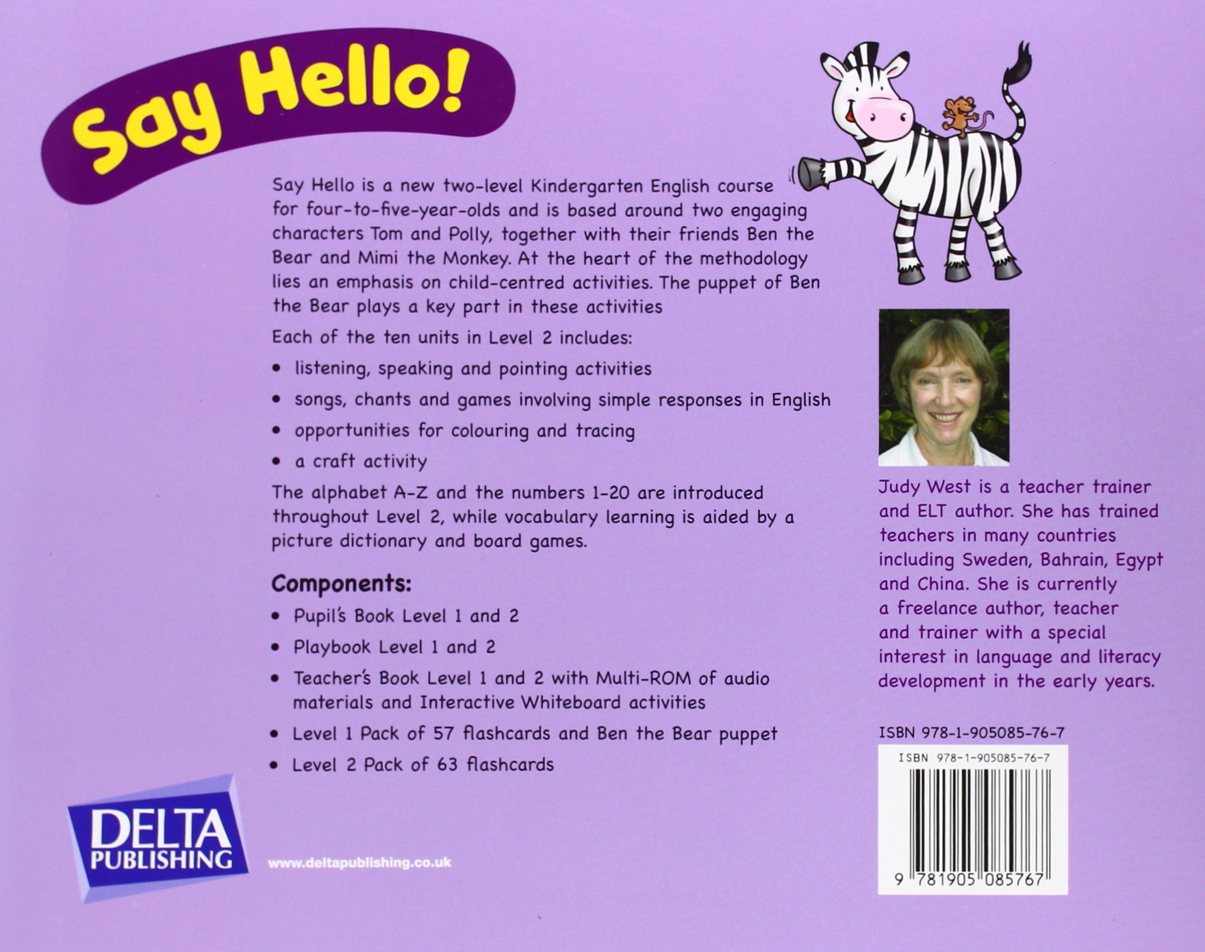 Say Hello Pupils Book 2 Judy West 9781905085767 Amazon Books