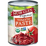 Muir Glen Organic Tomato Paste, No Sugar Added, 6 Ounce Can