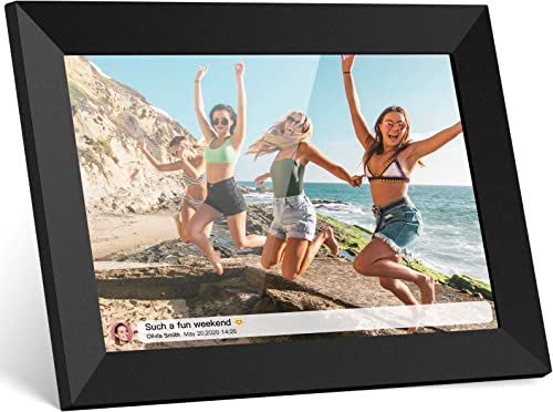 Skyrhyme Digital Picture Frame 10.1 Inch WiFi Photo Frame