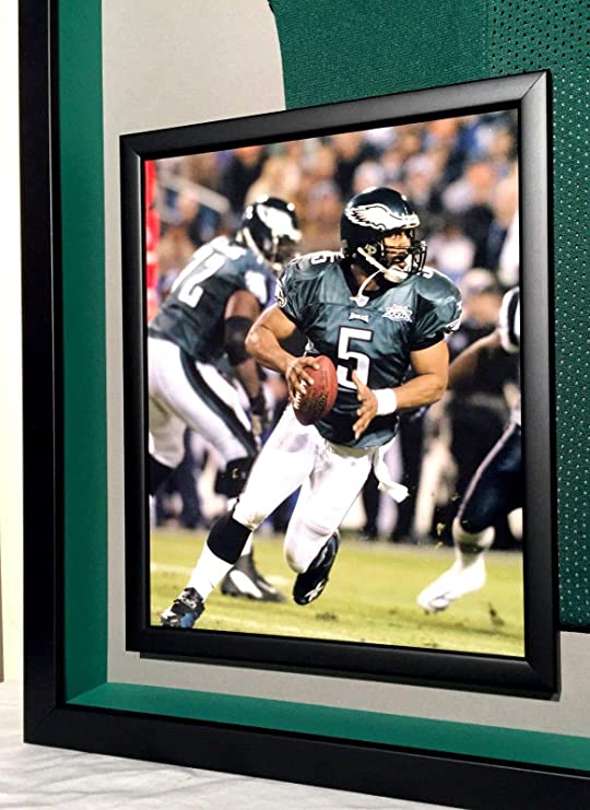 d00676b9039 Premium Framed Donovan McNabb Autographed/Signed Eagles Jersey - TRISTAR COA  at Amazon's Sports Collectibles Store