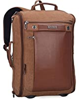 Witzman Canvas Backpack Rucksack Mens Travel Backpack Duffel Bag for Casual Business Outdoor