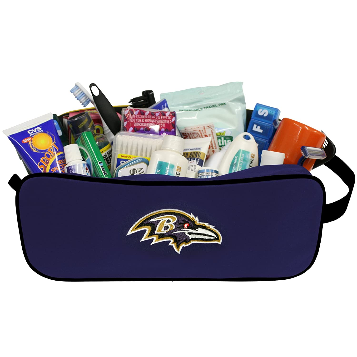 f6f37ed6bac6 Amazon.com : NFL Baltimore Ravens Unisex Travel Case-Toiletry Bag ...