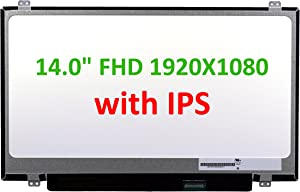 """Generic New 14"""" IPS LCD Screen Compatible with Acer Chromebook 14 CB3-431 NX.GC2AA.007 FHD Matte Replacement Laptop LED"""