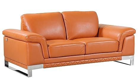 Incredible Amazon Com Blackjack Furniture 411 Camel L Loveseat Italian Creativecarmelina Interior Chair Design Creativecarmelinacom