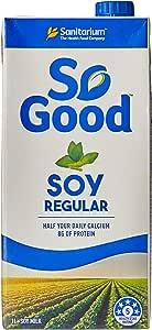 Sanitarium So Good Regular Soy Milk, 1 Liters