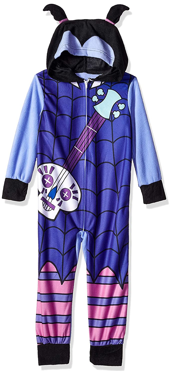 Amazon.com: Disney Girls Vampirina Fleece Hooded Blanket Sleeper: Clothing