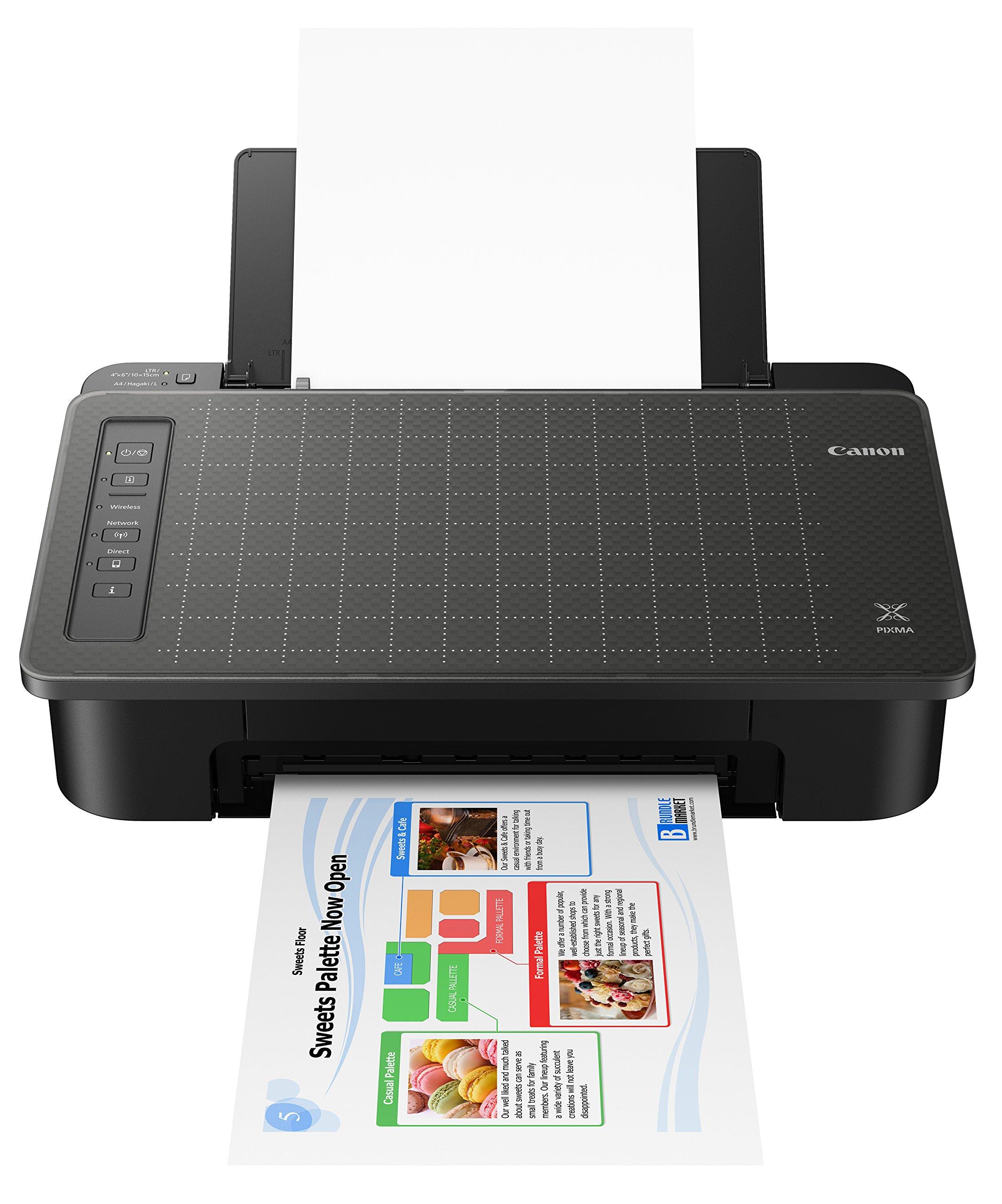 Canon TS302 Wireless Inkjet Printer, Black (2321C002)