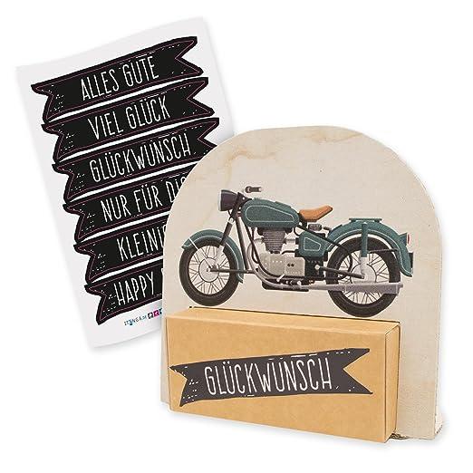 Amazon De Itenga Geldgeschenk Oder Gastgeschenk Verpackung Motorrad