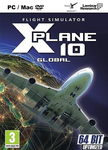 X-Plane 10 Flight Simulator Global Edition PC, Mac & Linux