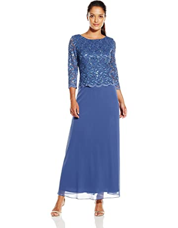 c926b781b29 Alex Evenings Women s Long Mock Dress