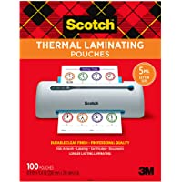 Deals on Scotch Thermal Laminating Pouches, 5 Mil Thick