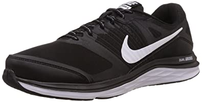 Nike Men's Dual Fusion X Msl Black,Bright Crimson,Dove Grey,White Running