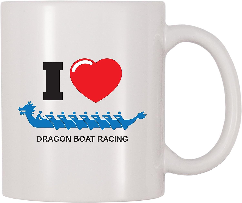 4 All Times I Love Dragon Boat Racing Coffee Mug (11 oz)