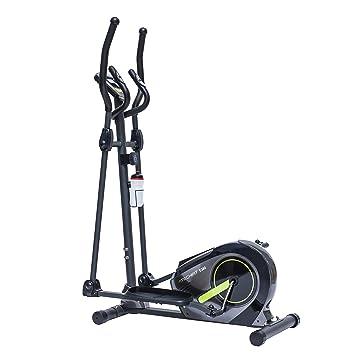 TechFit E380 Cross Trainer, Bicicleta elíptica para el hogar, Máquina de Cardio para Ejercicios