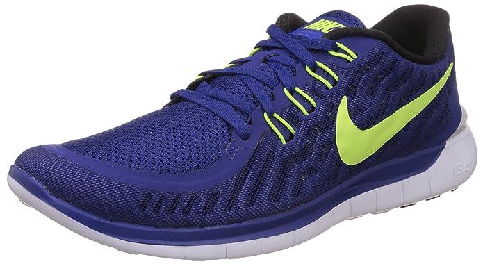 Nike Men's Free 5.0 Dp Royal Blue/Vlt/Rcr Bl/White Running Shoe 10 Men US