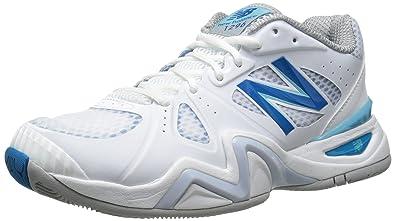New Balance Femme 1296 Chaussures de Tennis Blanc Blanc