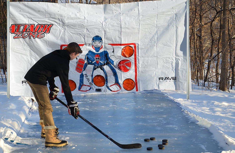 amazon com rave ez set ice rink 200 sports u0026 outdoors