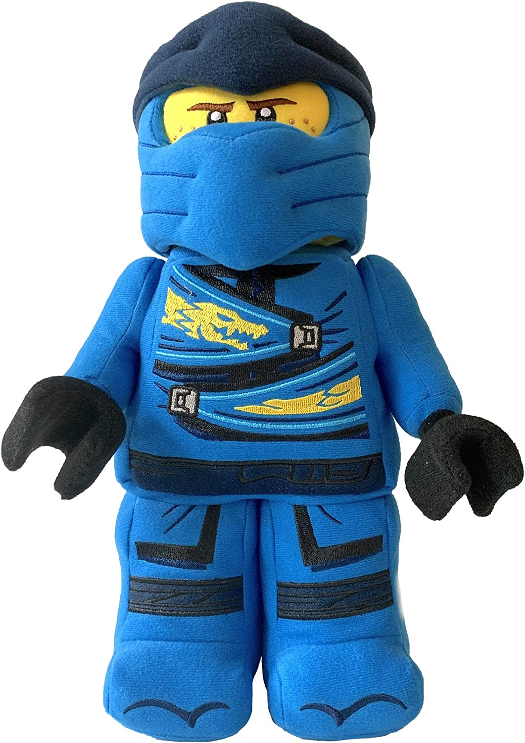 "Manhattan Toy Lego NINJAGO Jay Ninja Warrior 13"" Plush Character"