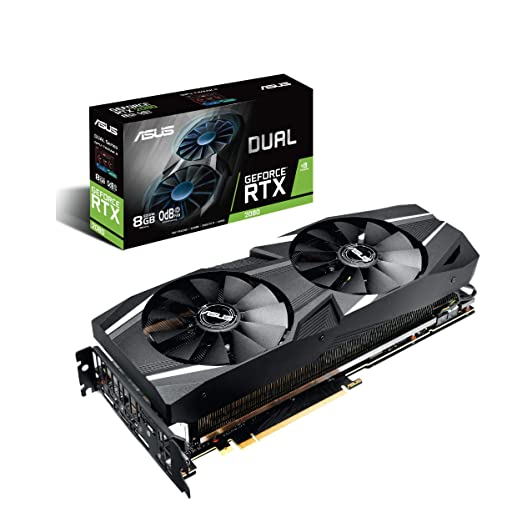 Amazon.com: ASUS Dual RTX2080 8G VR Ready Gaming Graphics Card - Turing Architecture (Dual RTX2080-8G) Graphic Cards DUAL-RTX2080-8G: Computers & ...