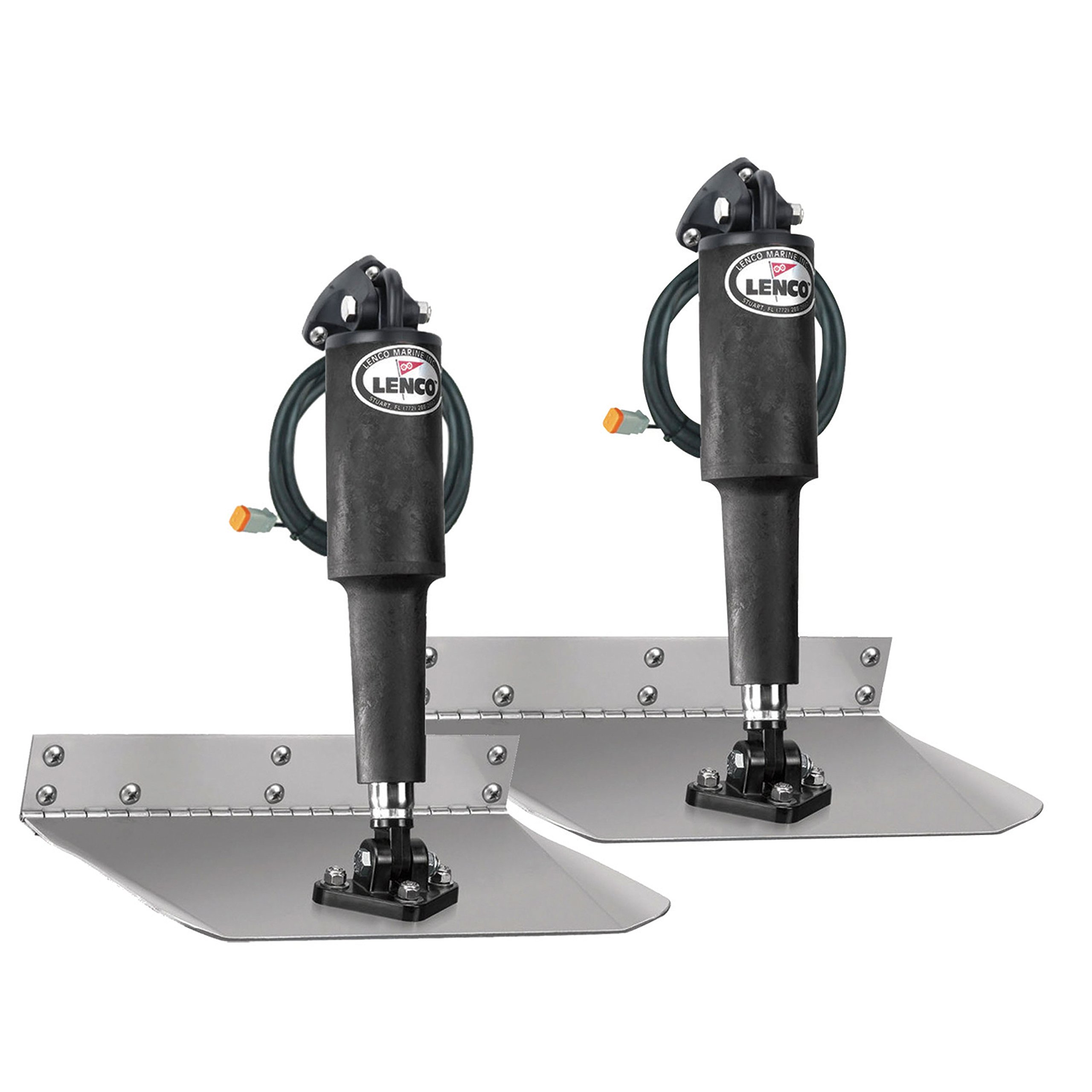 Lenco 15000-101 Trim Tab Kit, 9'' x 9'' 12V, Standard Mount