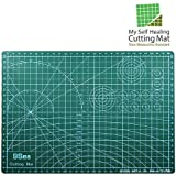 My Self Healing Cutting Mat | 12x18 Inch with Self Healing Compound | Precise Measurement Marking | Double Sided Non-slip Rotary Mat | Quilting, Sewing, Arts, Crafts, Cutting, Scrapbooking Uses | 332