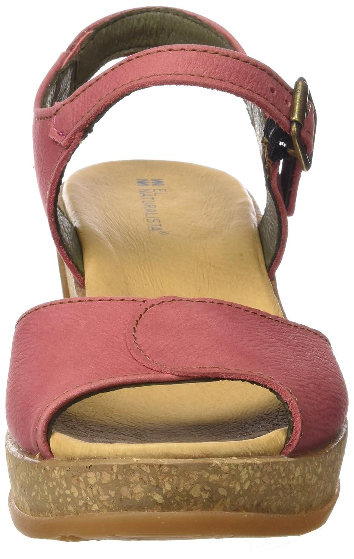 El Naturalista Damen N5000 Peeptoe Sandalen Pink Pink Sandalen (Sandaleo) 0710df