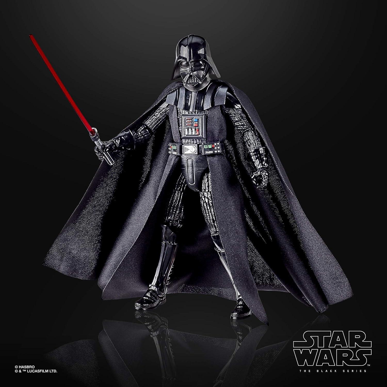 Darth Vader Unisex Action Figure Multicolore Plastica Star Wars 40th Anniversary The Black Series
