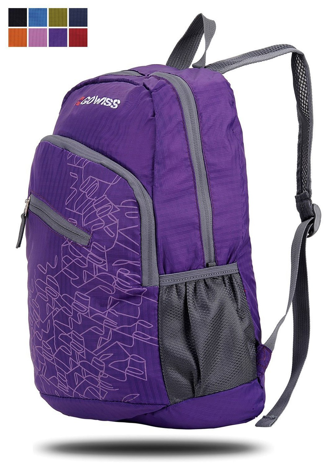 Gowiss Backpack - Rated 20L 33L- Most Durable Packable Convenient  Lightweight Travel Hiking Backpack 7bd3da9ab2