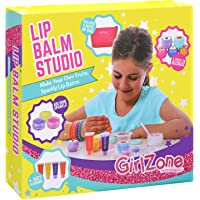 GirlZone: DIY Make Your Own Lip Balm Kit With This 22 Piece Makeup Set For Girls. Best Birthday Present Gifts For Girls Age 6 7 8 9 10 11+ Years Old.