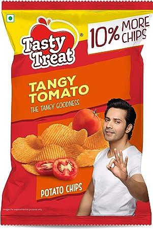 Tasty Treat Tangy Tomato Potato Chips 55G