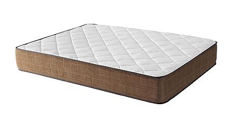 Royal Beds Armony SPA Colchón, Tela, Marrón, Matrimonial, 200x45x45 cm
