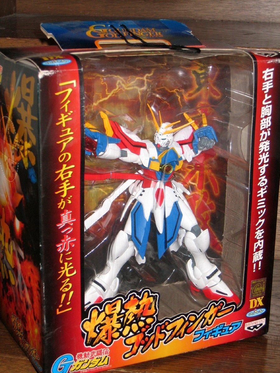 """G Gundam /""""/š/""""M God finger figure full-color version M.S Gundam"""