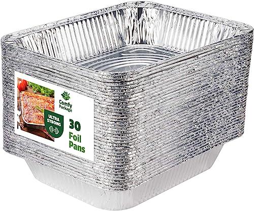 DCS Deals Aluminum Half Size Deep Foil Pans