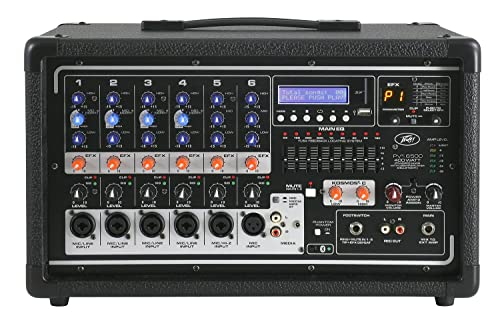 Peavey PVi 6500 400-Watt 5-Channel Powered Mixer