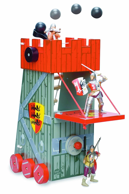 Le Toy Van - 39121 - Figurine - La Tour d'assaut - Rouge